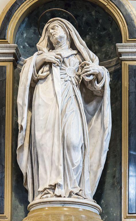 Santa_Maria_dei_Servi_(Padua)_-_Altare_dell'Addolorata_-_Santa_Giuliana_Falconieri