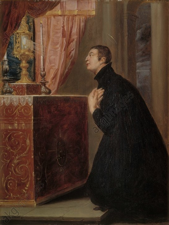 st aloysius gonzaga adoration