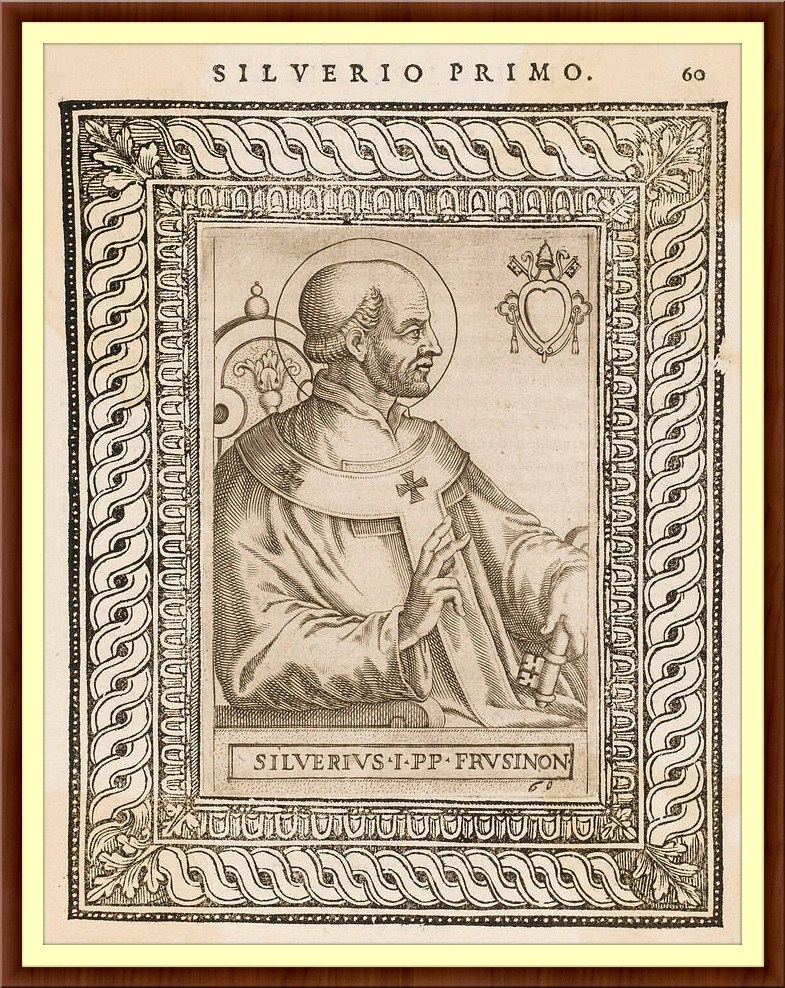 ST POPE SILVERIUS LG