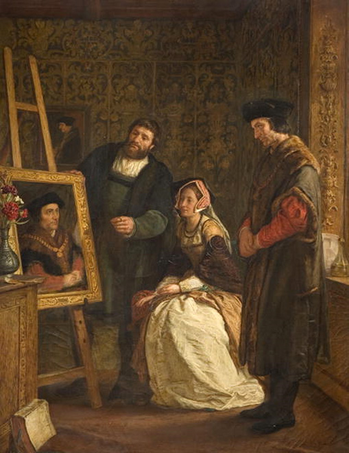 St Thomas More - Holbein's Studio, 1861..jpg
