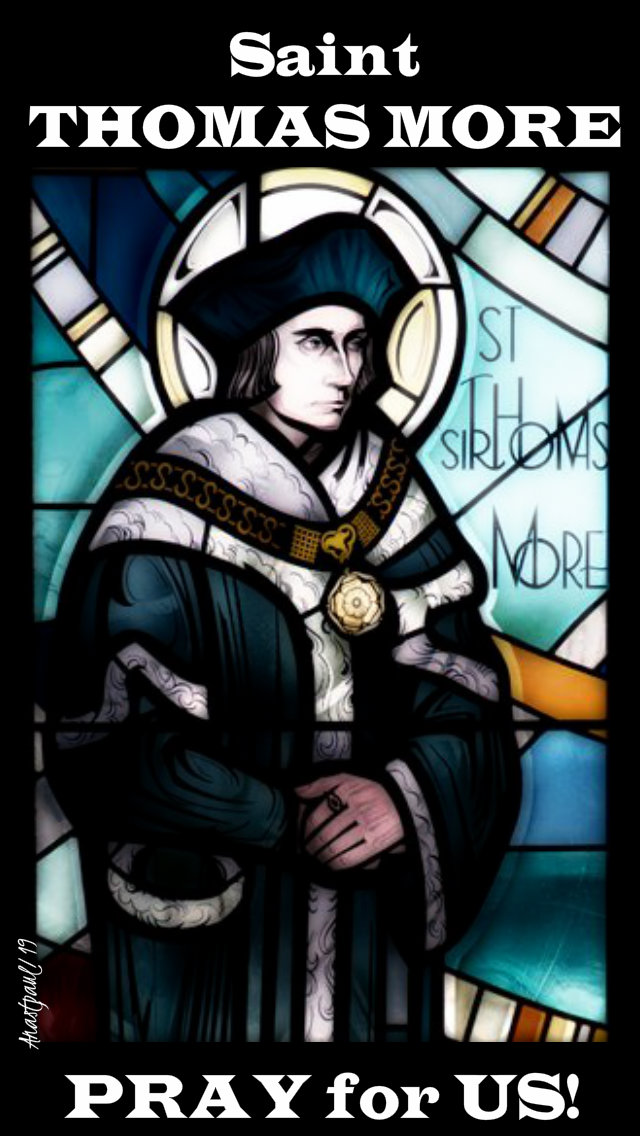 st thomas more pry for us 22 june 2019