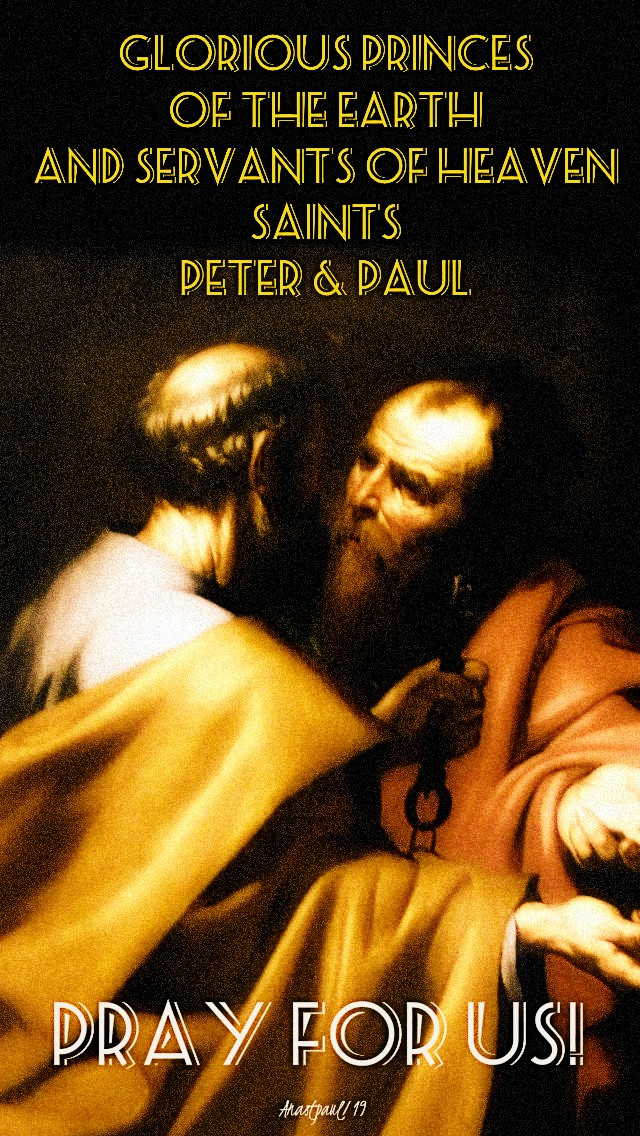 sts-peter-and-paul-pray-for-us-29-june-2019-sts-peter-and-paul 29 june 2020