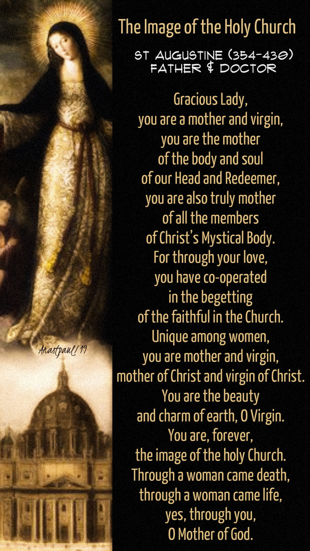 the image of the holy church - st augustine - 10 june 2019 - mary mater ecclesiae mother of the church.jpg