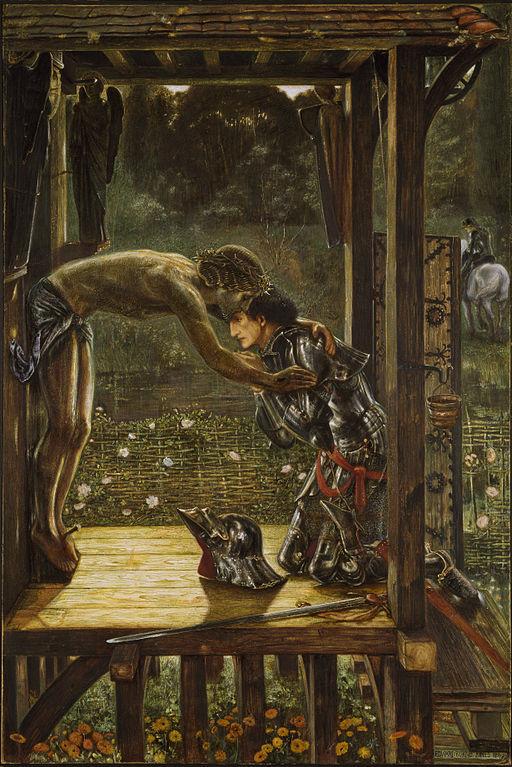 512px-Edward_Burne-Jones_-_The_Merciful_Knight. st john gualbert - wow!jpg.jpg