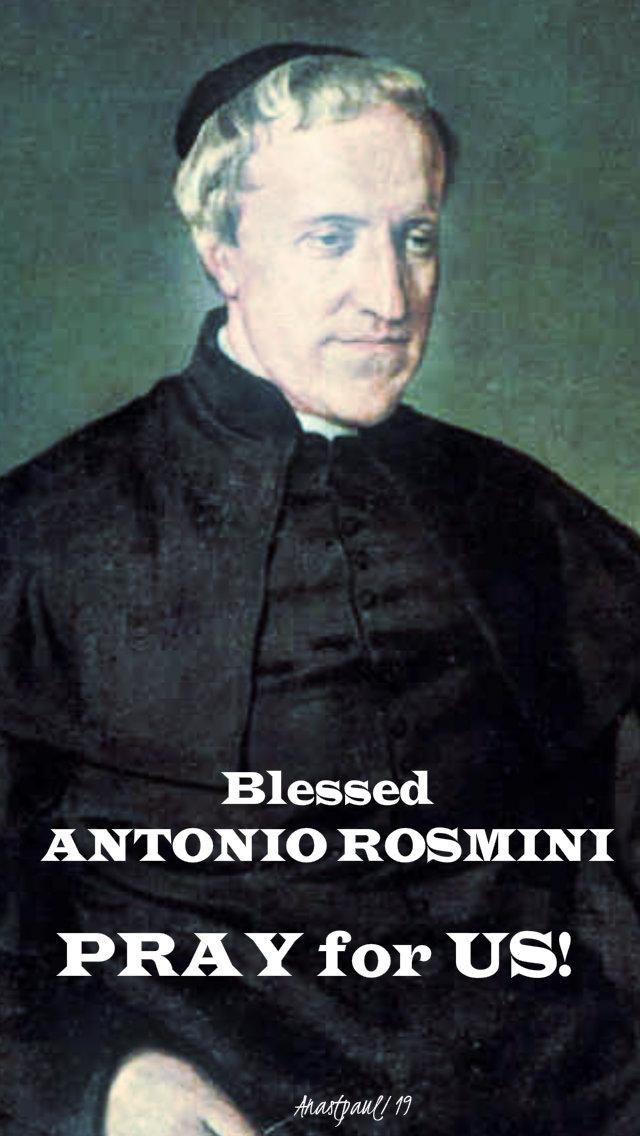 bl antonio rosmini pray for us no 2 - 1 july 2019.jpg