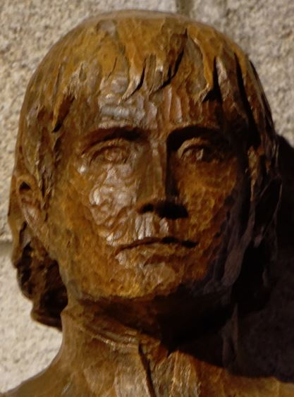 bl pietro vigne head of statue