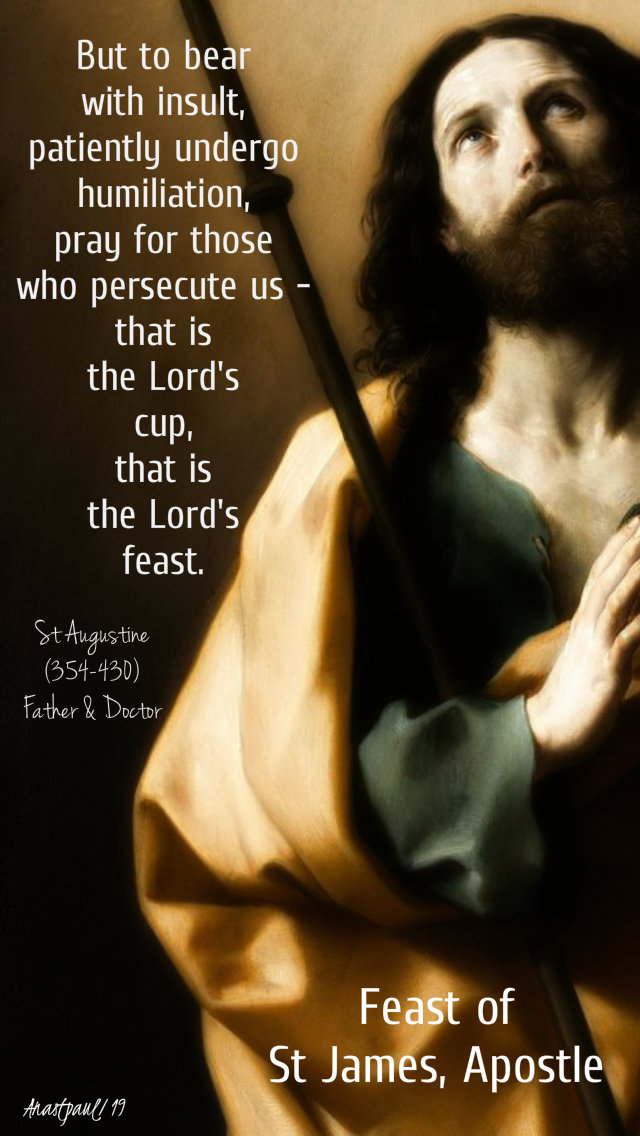 but to bear with insult, patiently undergo humiliation...st augustine-feast of st james 25 july 2019.jpg