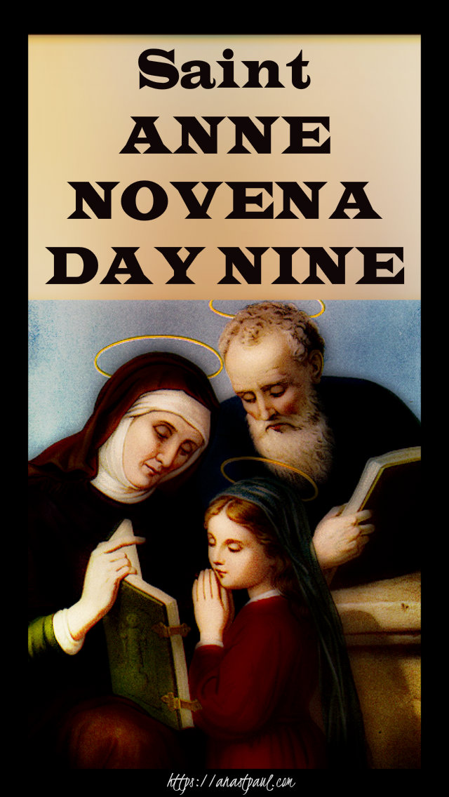 day nine st anne novena - 25 july 2019
