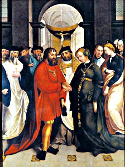 Garcia_Fernandes_-_Casamento_de_Santo_Aleixo,_1541