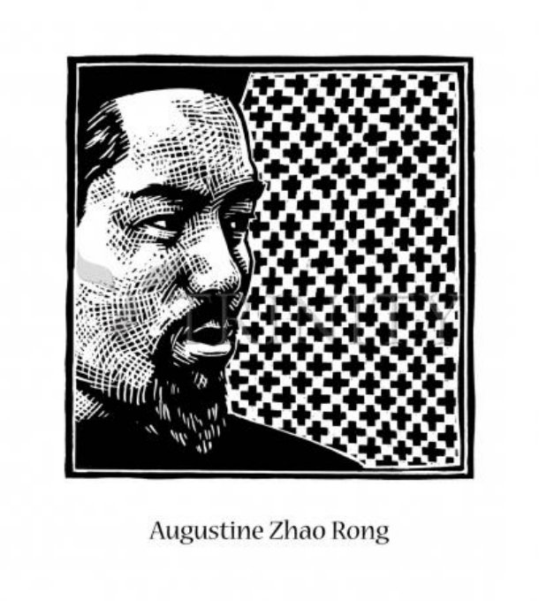 st augustine zhao ron pen drawing
