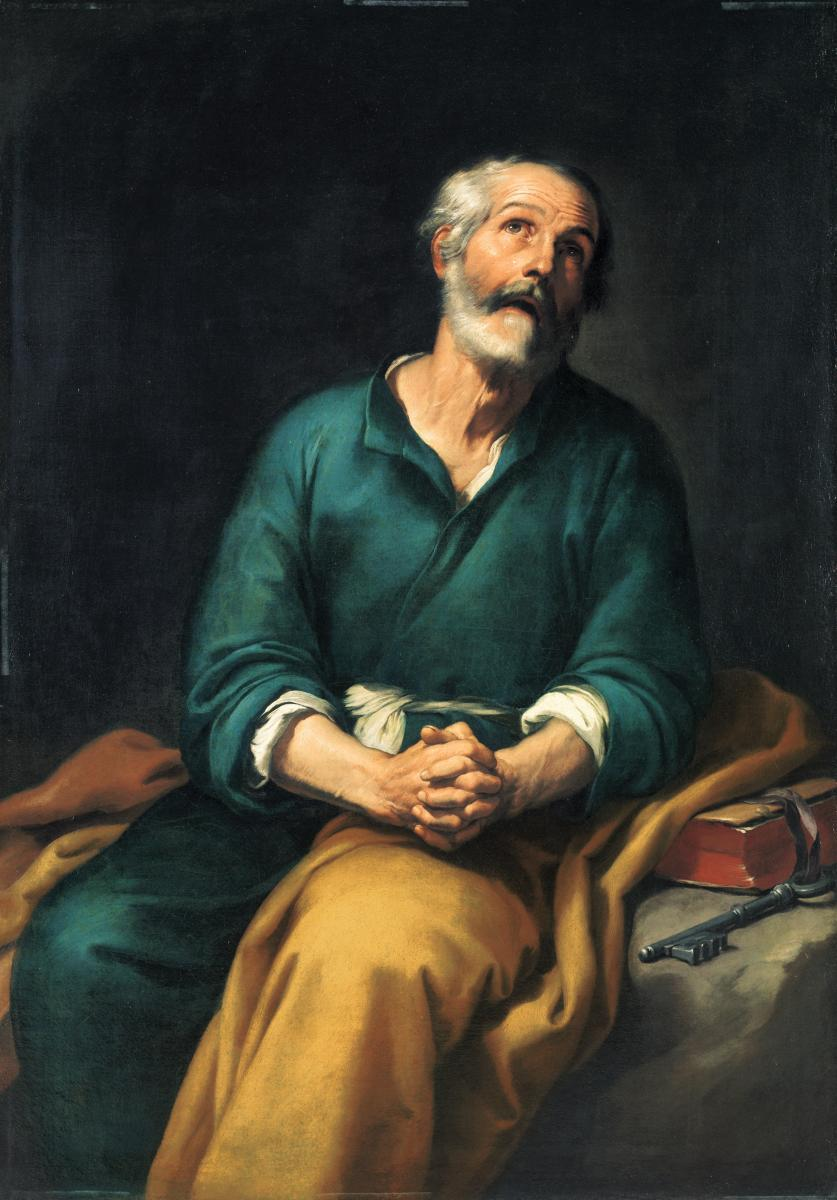 st peter in chains prison