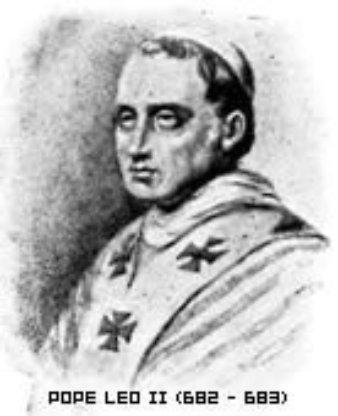 st pope leo II sml