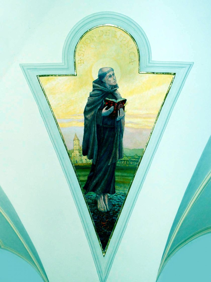 st simon in mural