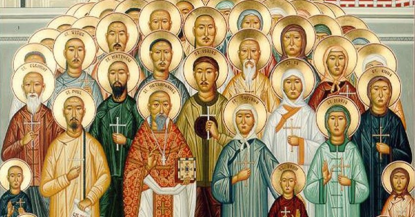 St. Augustine Zhao Rong, and companions