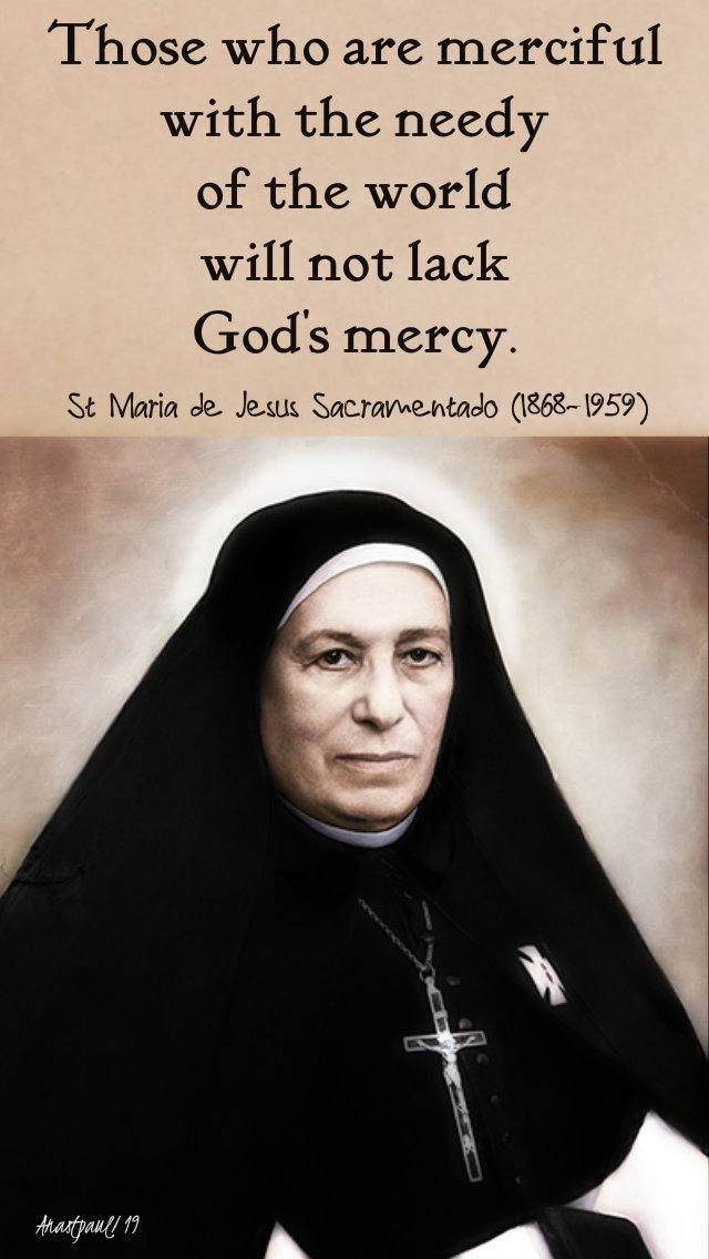 those who are merciful - st maride de jesus scramenntado 30 july 2019.jpg