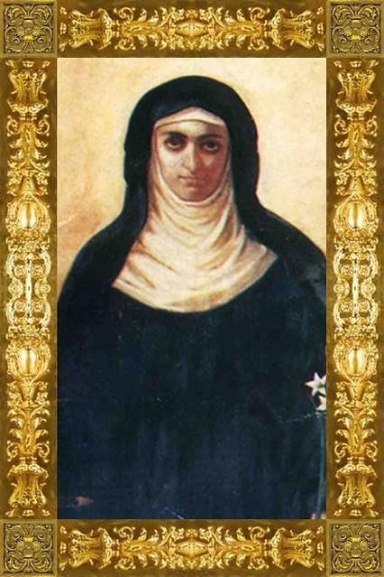 st clare of montefalco portrait