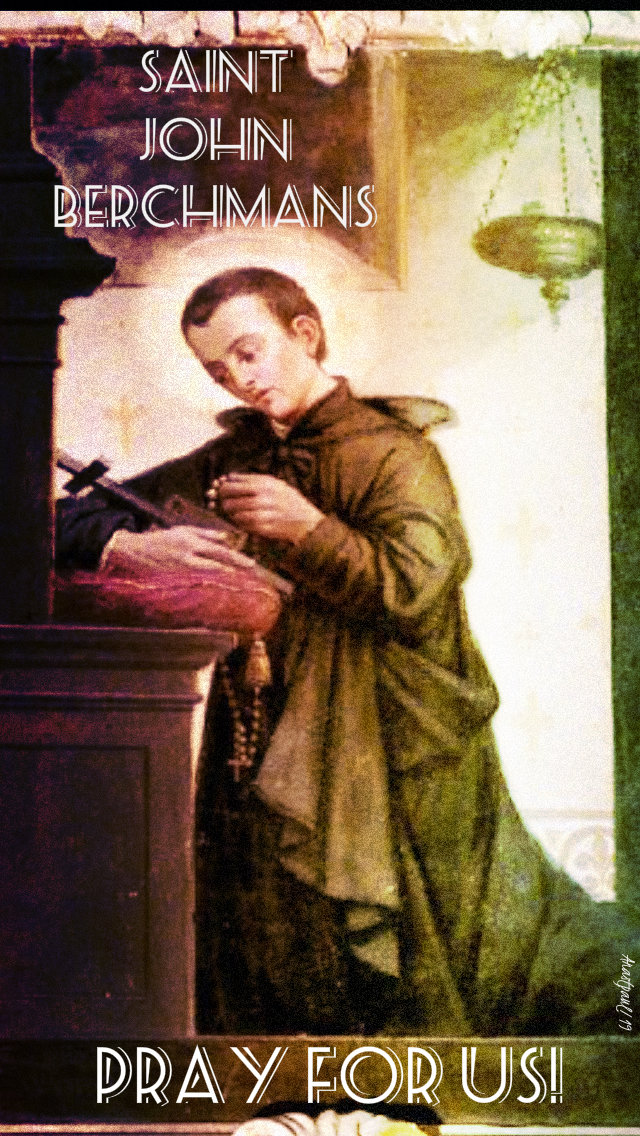 st john berchmans pray for us 13 aug 2019