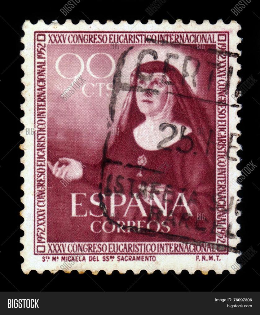 st maria michaela stamp