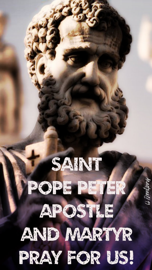 st pope peter apostle and martyr pray for us 22feb2019.jpg