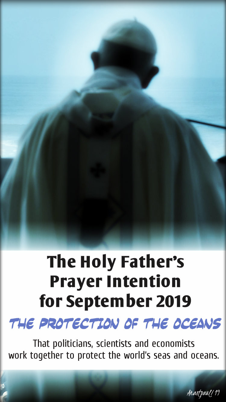the holy fathrs prayer inetntion sept 2019 1 sept 2019