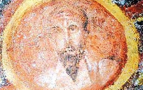 1600 year old Fresco of st paul was restored using a laser.jpg