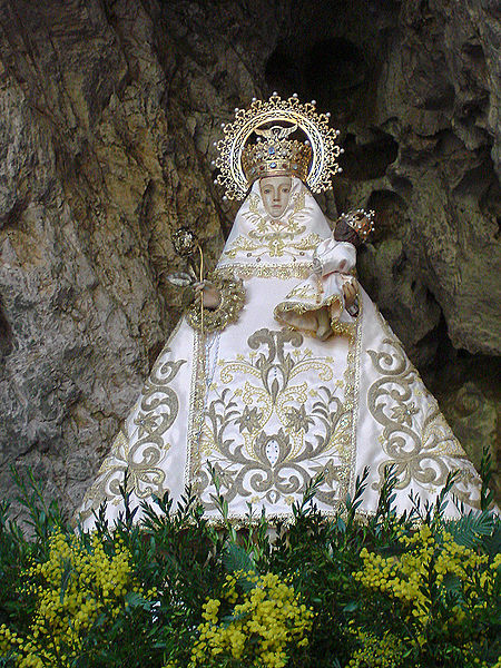 450px our lady of covadonga at -Santina.jpg