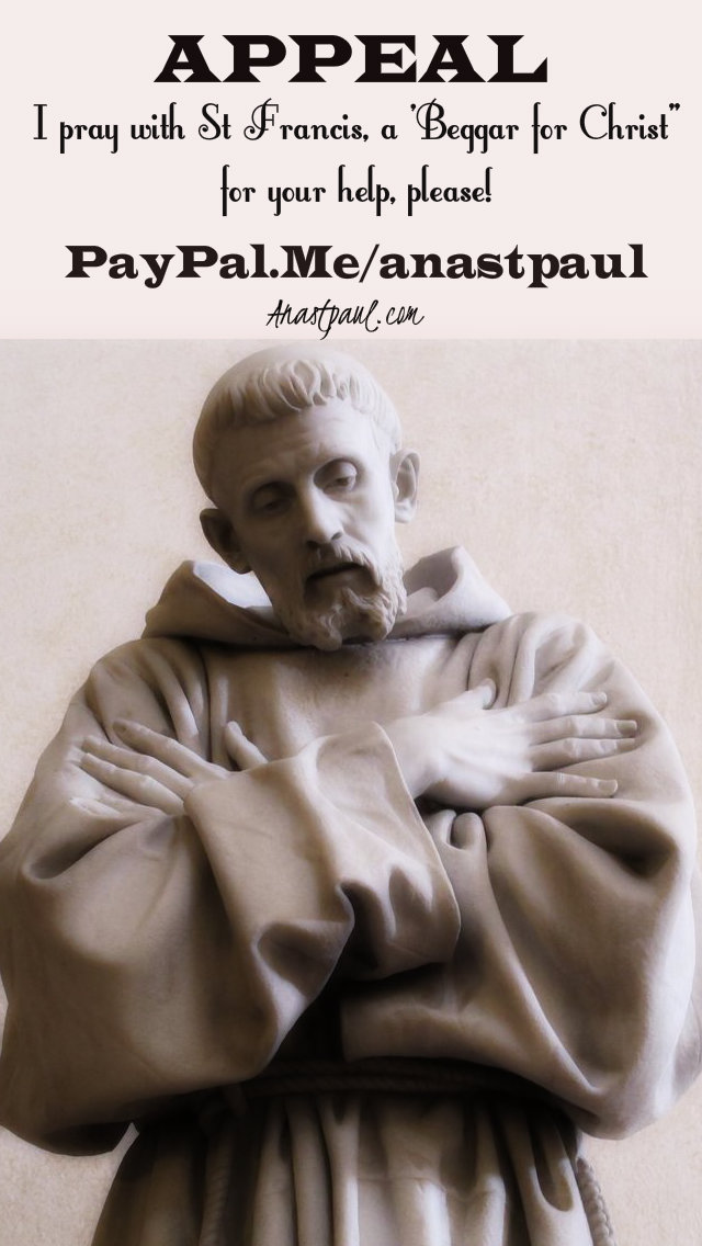 appeal - 12 sept 2019 I pray with st francis.jpg