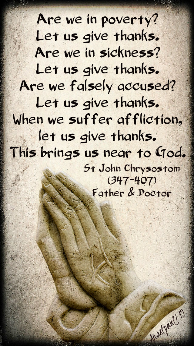 are-we-in-poverrty-st-john-chrysostom-giving-thanks-9-feb-2019
