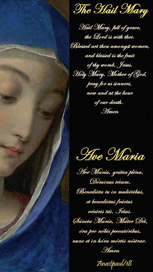 hail-mary-and-ave-maria-12 september 2019-st-simon-de-rojas-fr-ave-maria-no-2