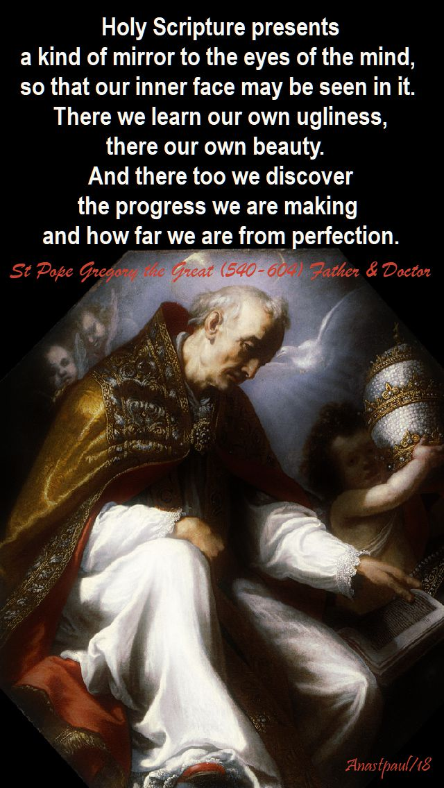 holy-scripture-presents-st-pope-gregory-3-sept-2018one min r and 2019 - quotes