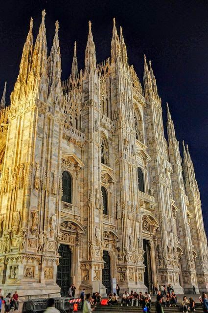 milan cathedral exterior