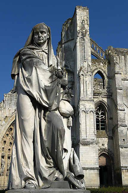 st bertin statue