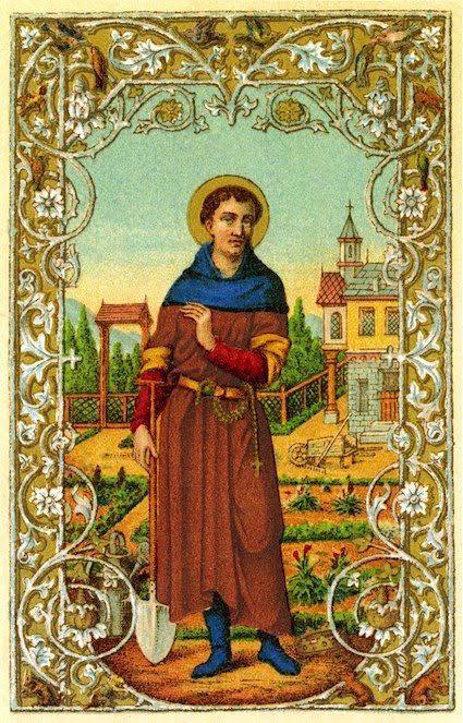 st fiacre holy card.jpg