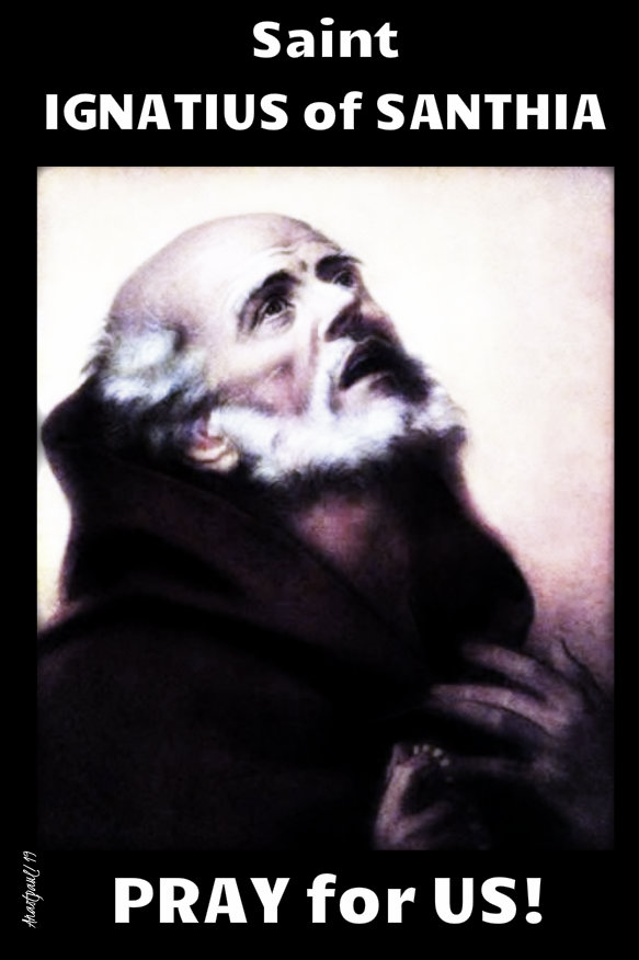 st ignatius of santhia - pray for us - 22 sept 2019