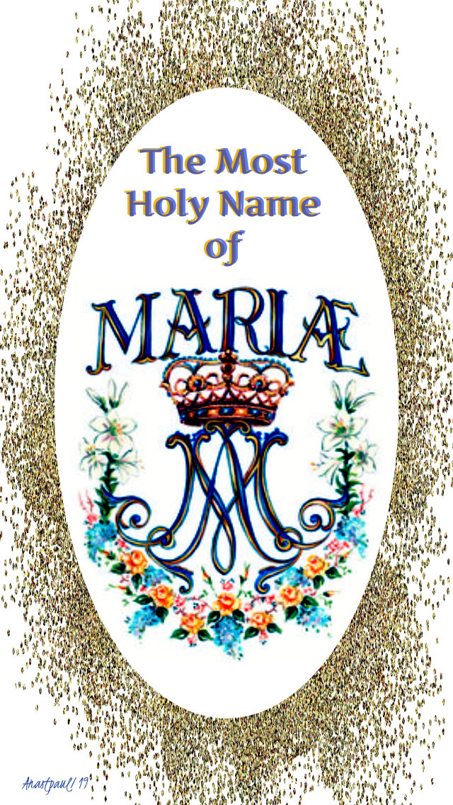 the most holy name of mary 12 sept 2019