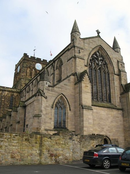 450px-Thst acca e_Nave_and_Tower_of_Hexham_Abbey_from_the_northwest_-_geograph.org.uk_-_749740