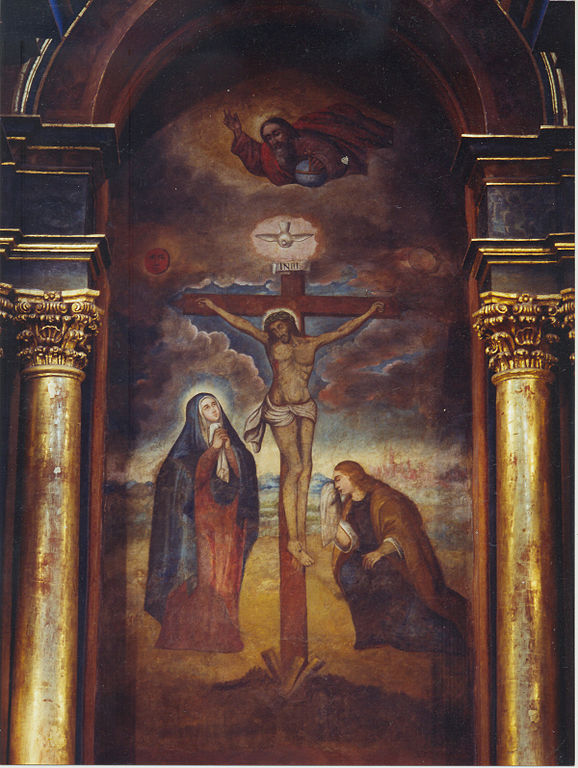 578px-sec3b1ordelosmilagrosnazarenas crusifixion mary and john at the cross.jpg