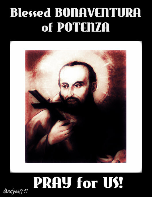 bl bonaventura of potenza pray for us 26 oct 2019