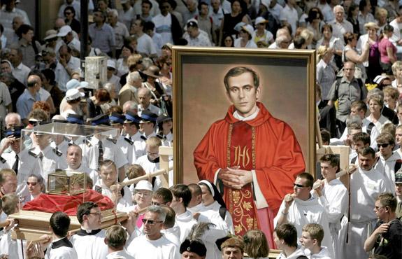 canonisation bl jerzy