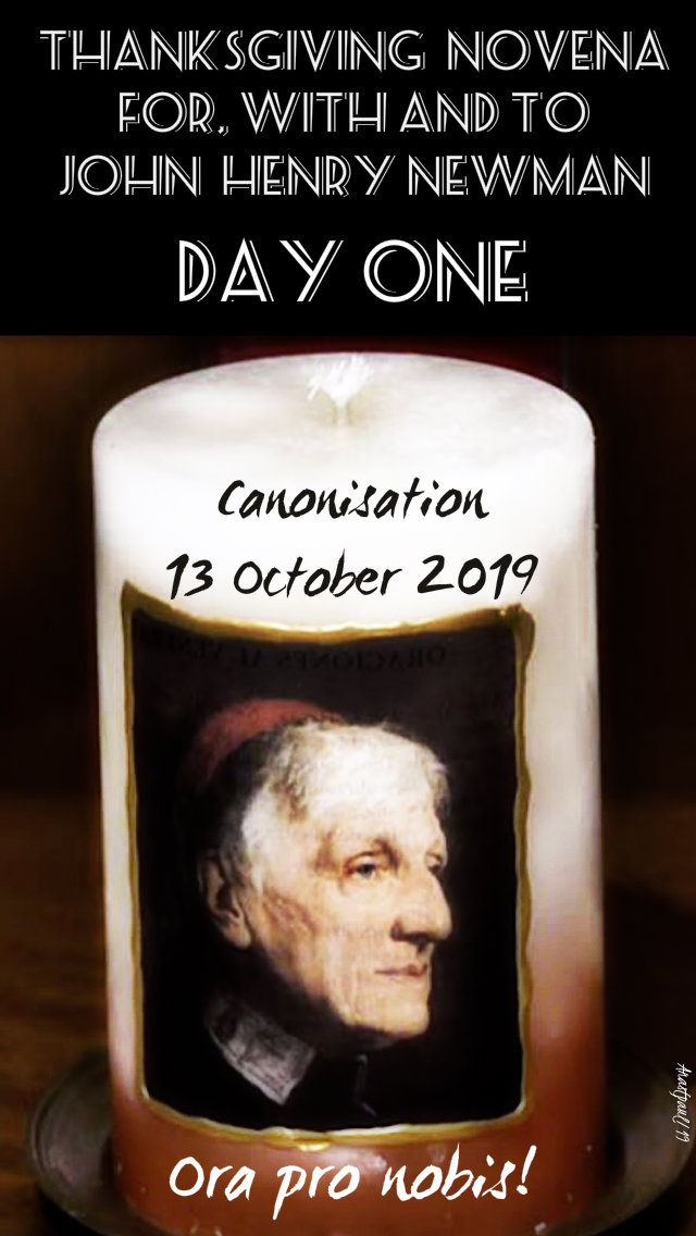 day one newman novena - 4 oct 2019
