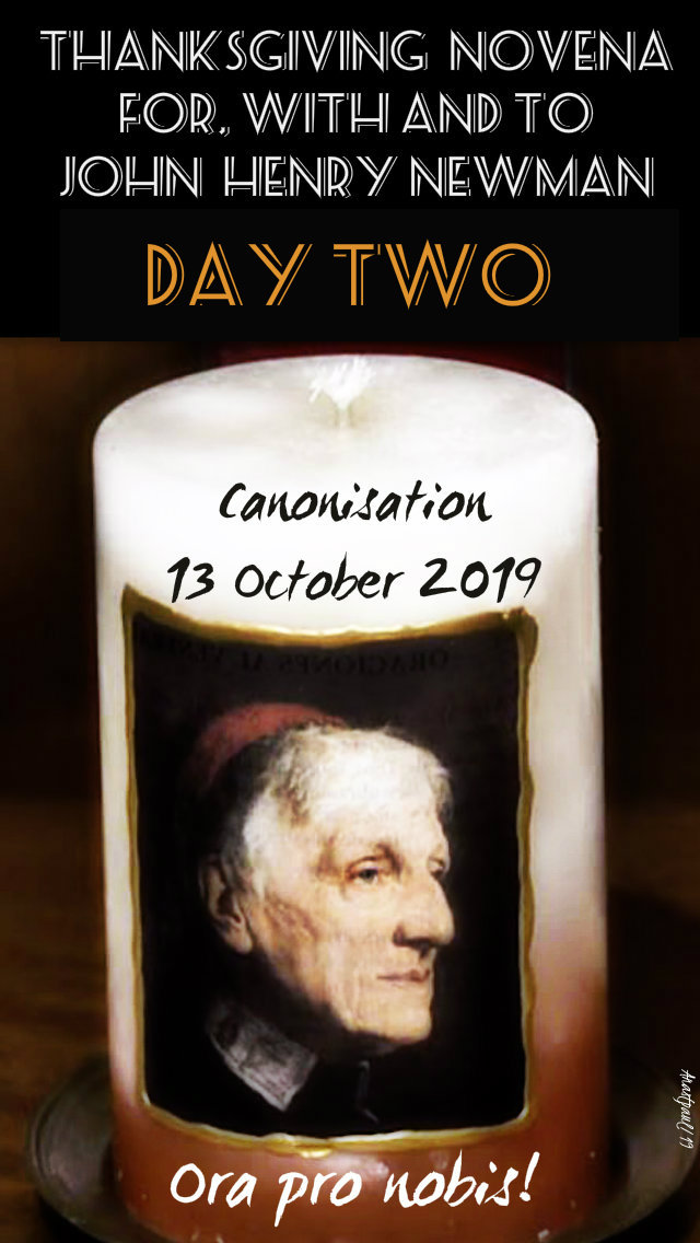 day two newman novena 5 oct 2019