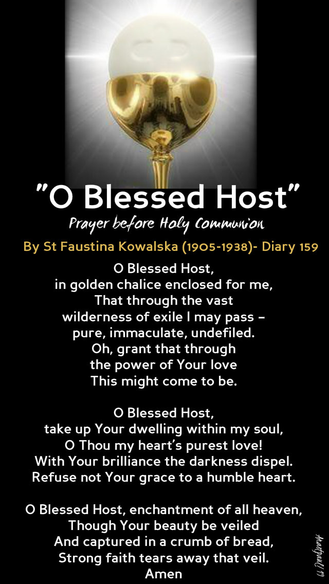 o blessed host - st faustina 6 oct 2019 sun 27C.jpg