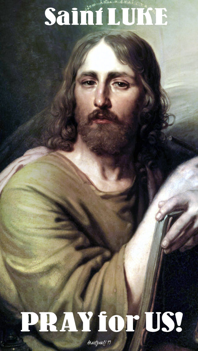 st luke pray for us 18 oct 2019.jpg