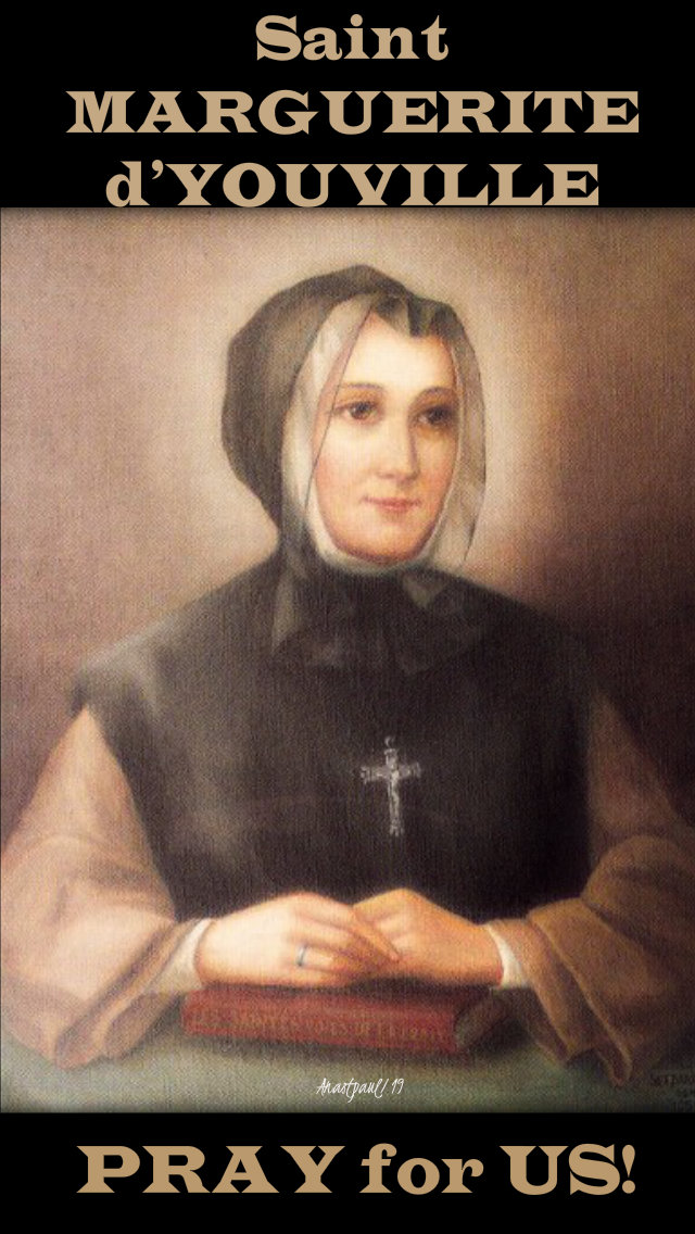 st marguerite dyouville pray for us 16 oct 2019