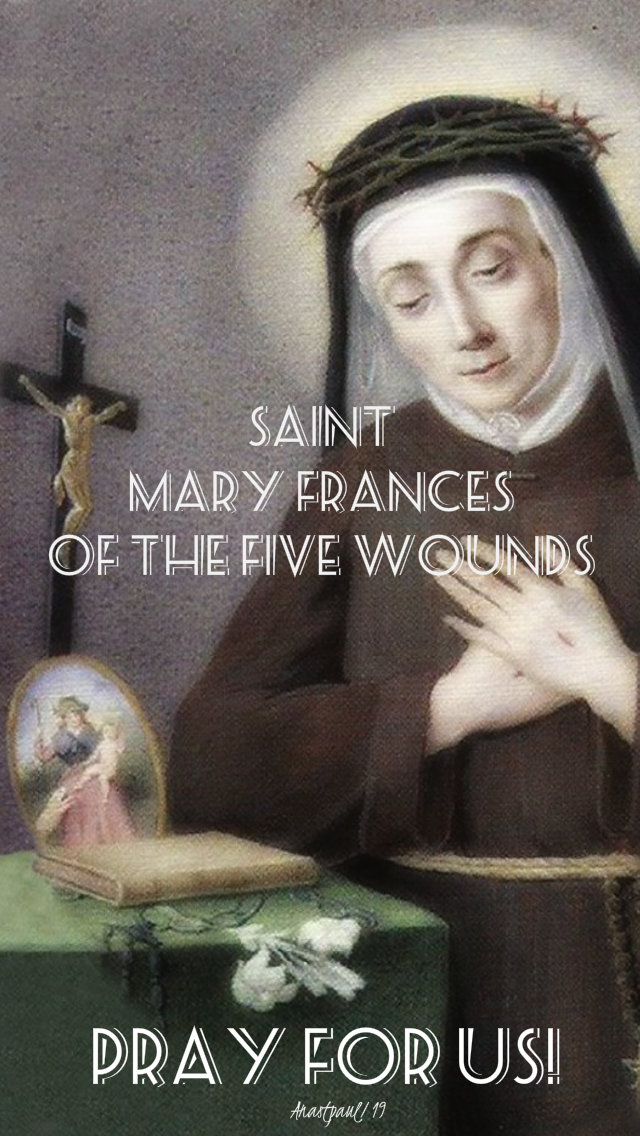 st mary frances of the five wounds pray for us 6 oct 2019.jpg