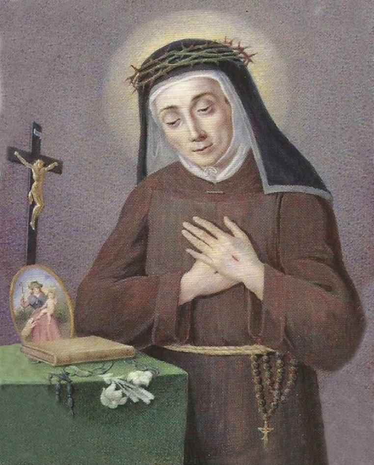 St Mary Francis of the Five Wounds of Jesus