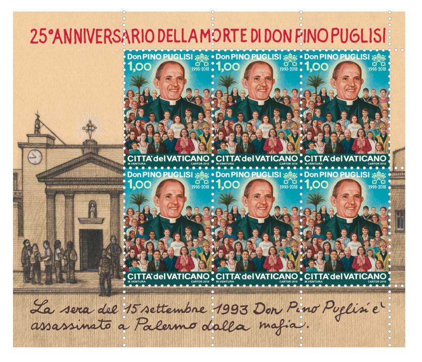 stamps bl pino Foglietto-Puglisi