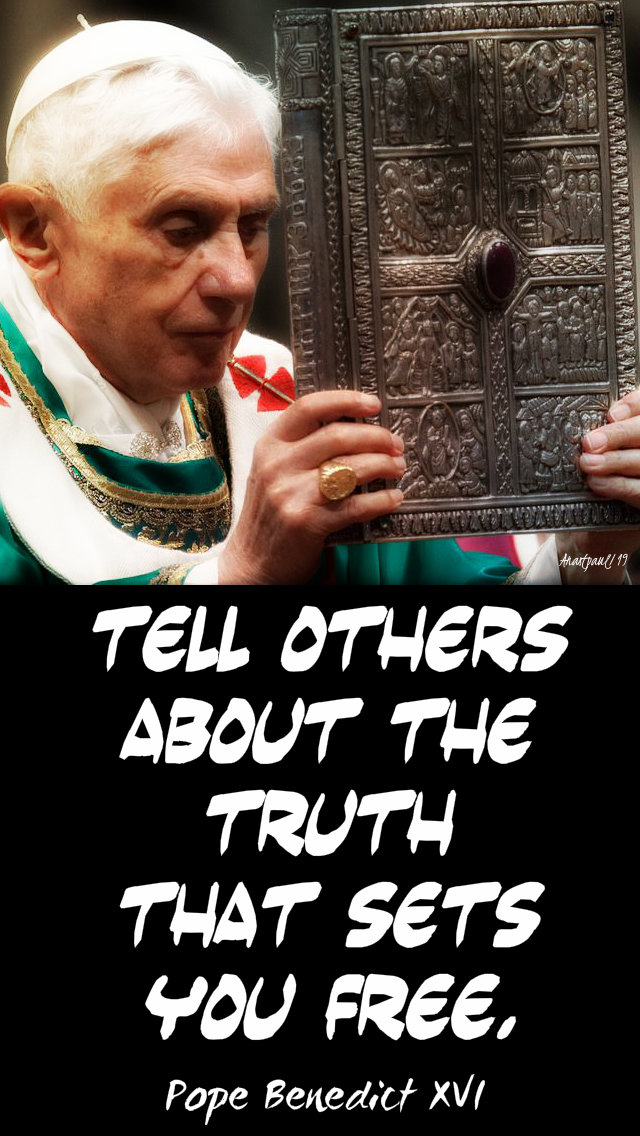 tell others about the truth that sets you free 25 oct 2019.jpg