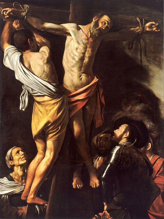 576px-The_Crucifixion_of_Saint_Andrew-Caravaggio_(1607)