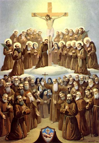 all saints of the Franciscan order - 29 nov